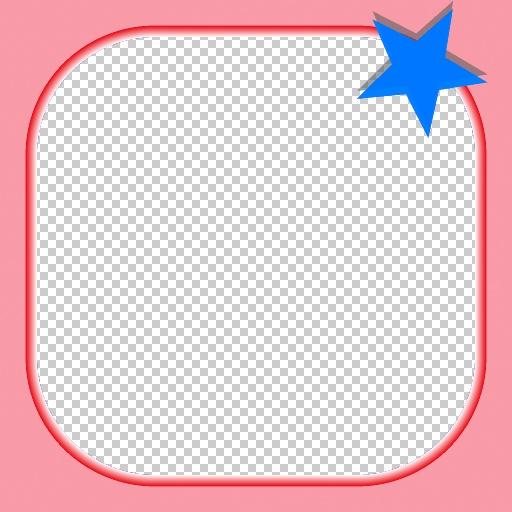 Star Frame (Texture)
