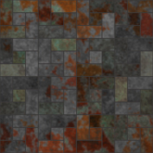 Matte Spanish Tile (Effect)