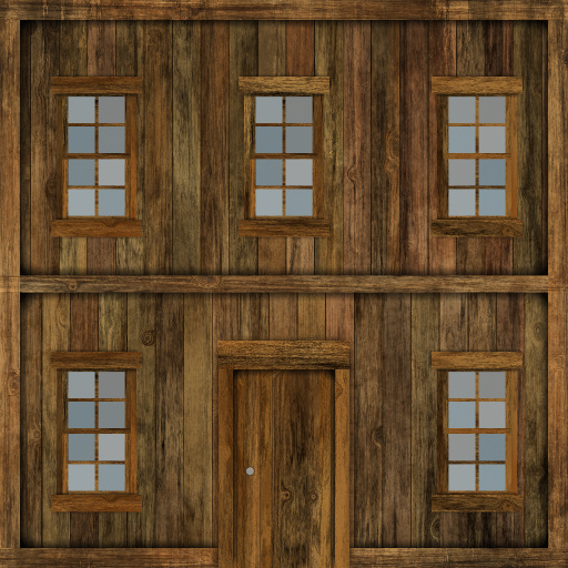 Wooden house gen (Texture)