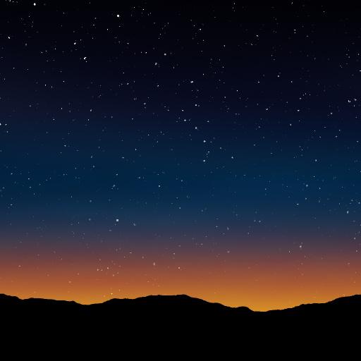 Stars At Dusk Texture
