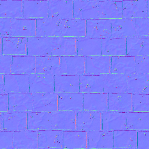 venice stone floor normal map