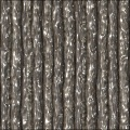 Wooden pole bark