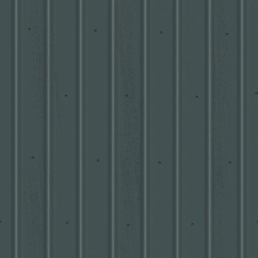 Profiled Metal Sheet Texture
