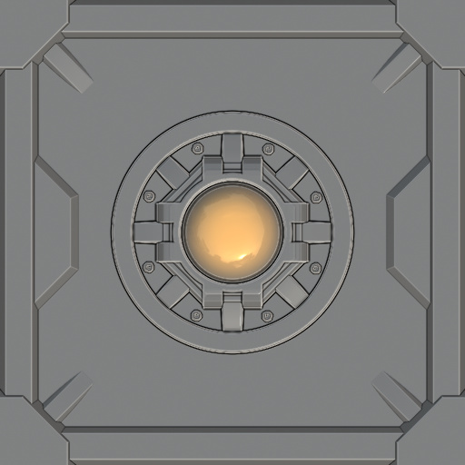 Sci Fi Door Texture