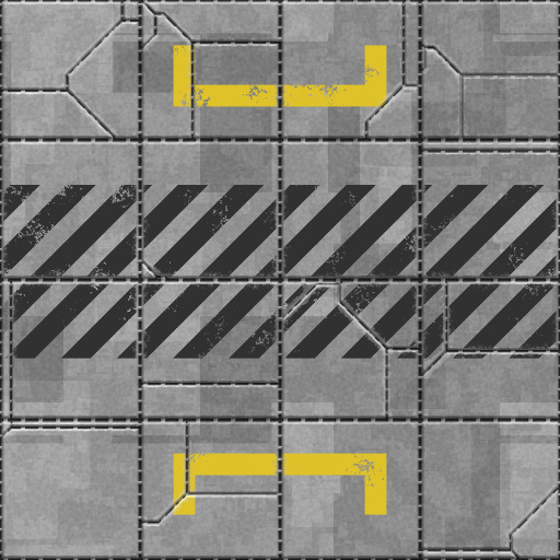 Scifi Metal Plate Texture