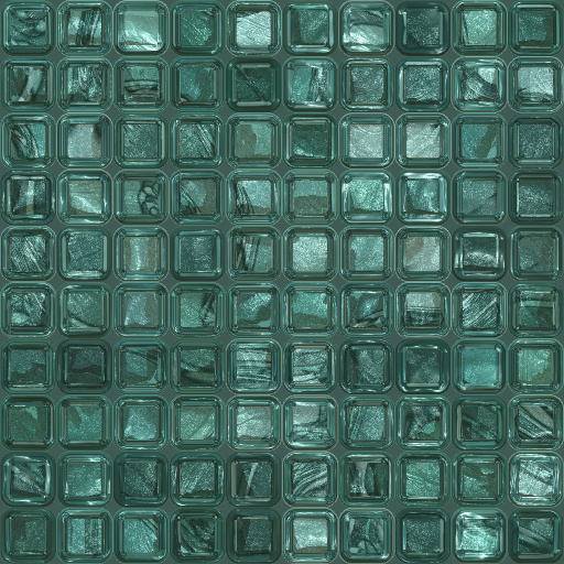 Mirror Glass Tiles (Texture)