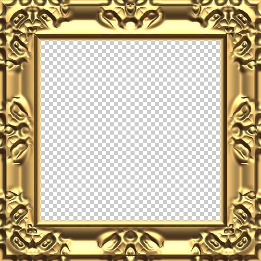 Baroque Frame II (Texture)