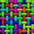 Colorful Block Weave Pattern Maker