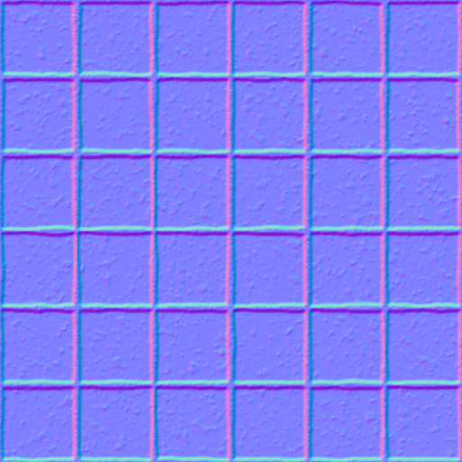 bordeaux stone floor normal map