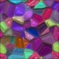 Colorful Reflective Random Shapes