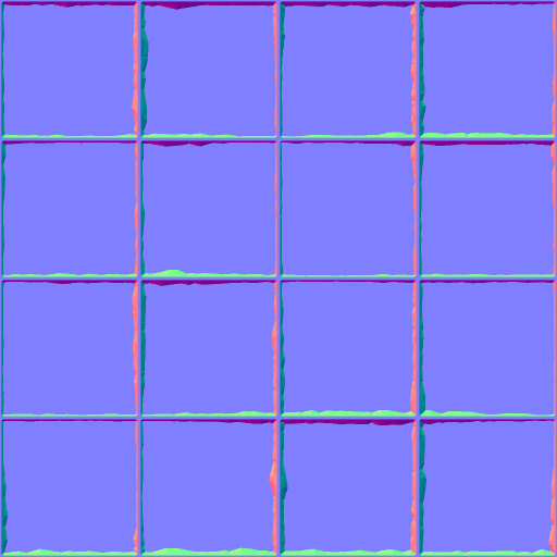 Medieval floor tiles normal map for Floor normal map