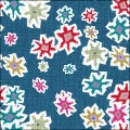 Floral Feed Sack Fabric
