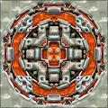 3D Reflective Mandalas Photo Effect