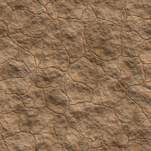 Cracked Mud (Texture