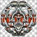 3D reflective Mirror Image Polygon Shapes Photo Effect