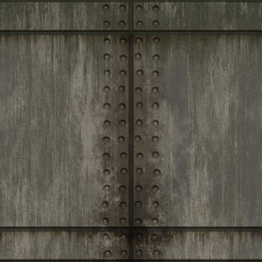 Wall Metal Plate 01 Texture