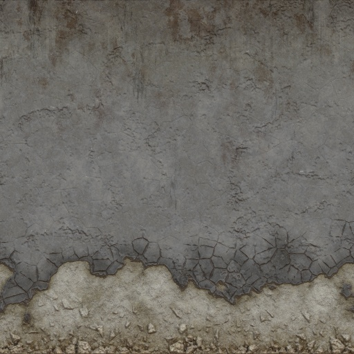 Wall Distressed Section 01 (Texture)