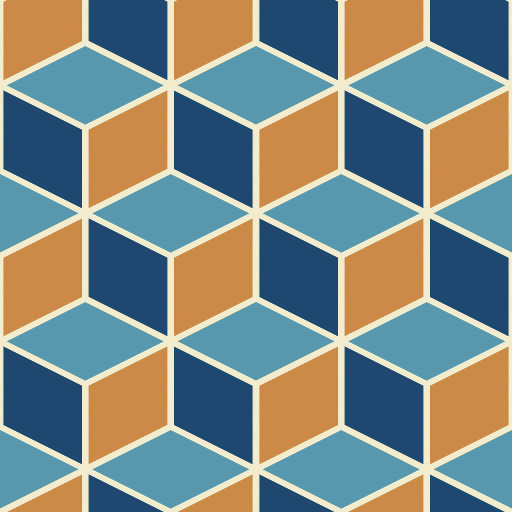 Isometric Cube Pattern (Texture)
