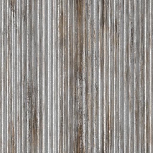 Corrugated Steel (Texture)