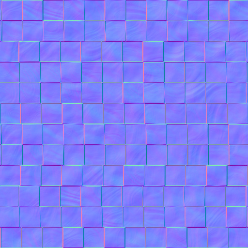 Decorative Tiles Normal Map