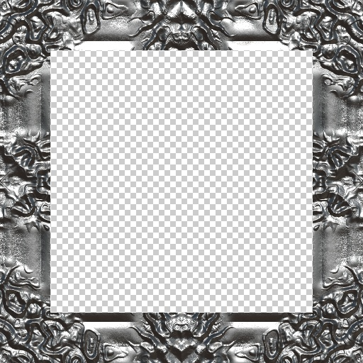 Baroque Frame III (Texture)