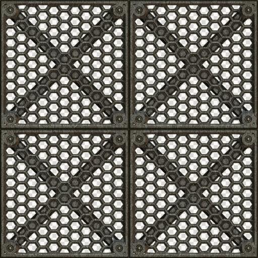 Floor Metal Plate 21 Texture