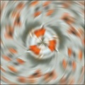 Radial spoke blur