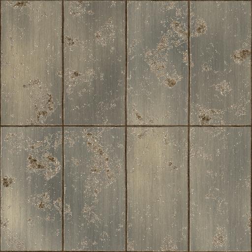 Metal Panels Bump Map