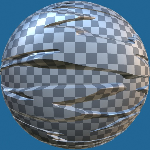 Displacement Map Sphere (Effect)
