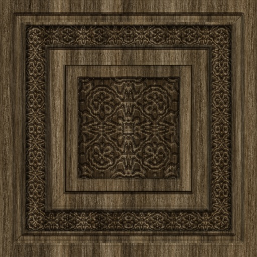 Carved Wood Panels - Wood Panels (Texture)