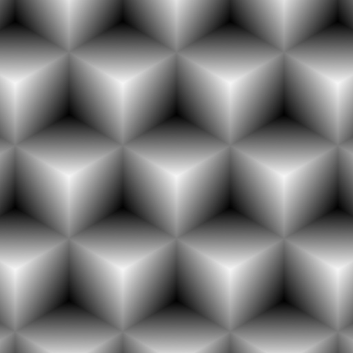 Perfect Rhombic/Hexagonal Tiling (Texture)