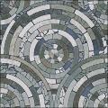 Radial Mosaic Tiles