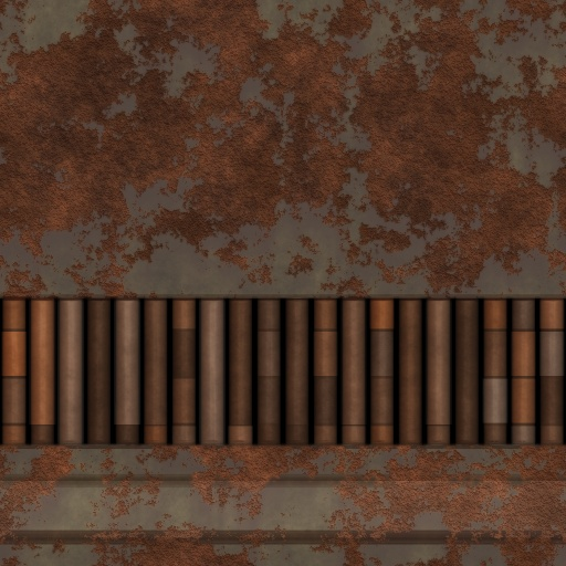 Rusted Tech Wall (Texture)