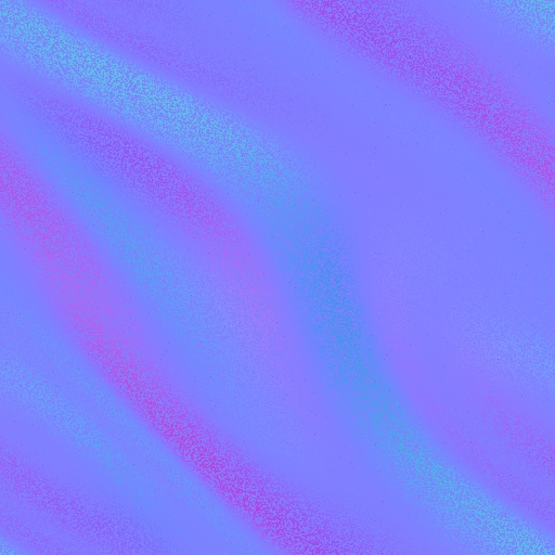 Velvety Fabric Normal Map
