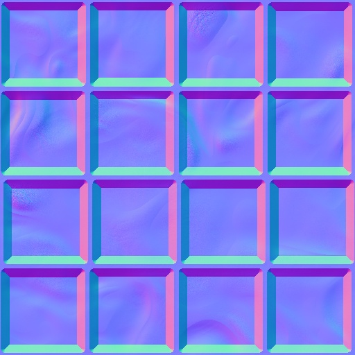 Water Tile - Normal Map