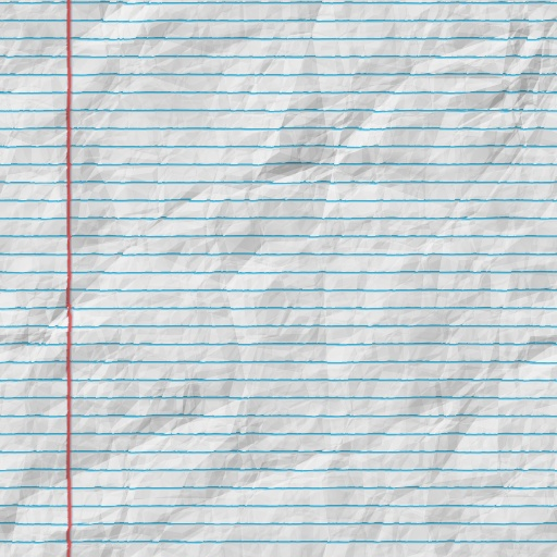 Crumpled Lined Paper | www.pixshark.com - Images Galleries ...