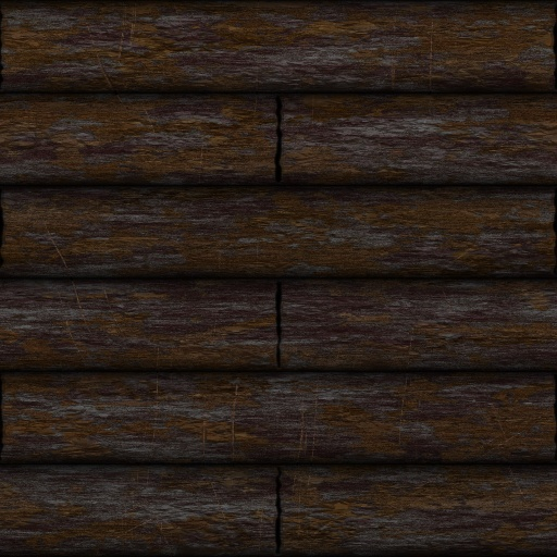 cottage log wall (Texture)