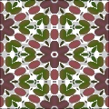 Floral Quilting Background Pattern