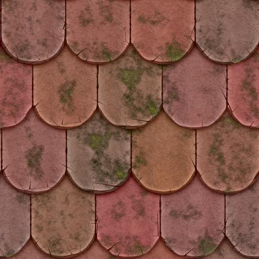 Vintage clay tile texture - Textuur tiling wit ...