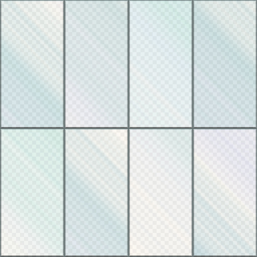 Simple glass panel texture for Textured glass panels