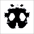 Rorshach inkblot (face edition)