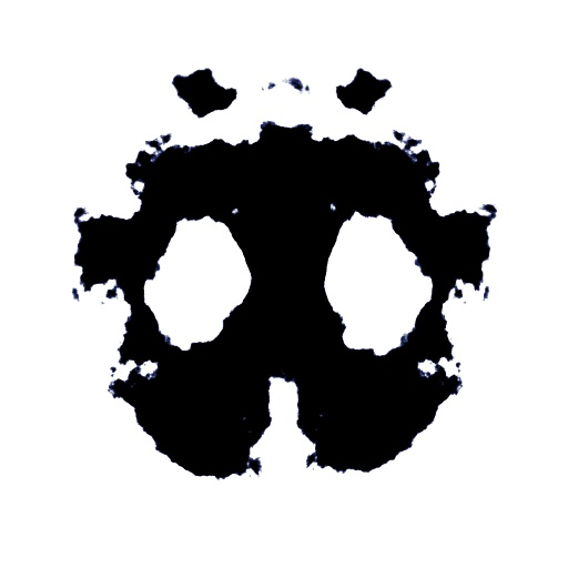 Rorshach inkblot (face edition) (Texture)