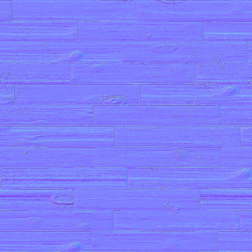 Rough wood planks normal map for Floor normal map