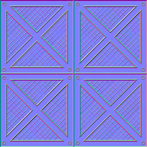 Floor panels normal map for Floor normal map