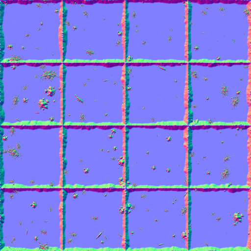 Overlooked bathroom floor normal map for Floor normal map