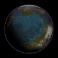 Terrestrial Planet 2 by temporalvistasquash