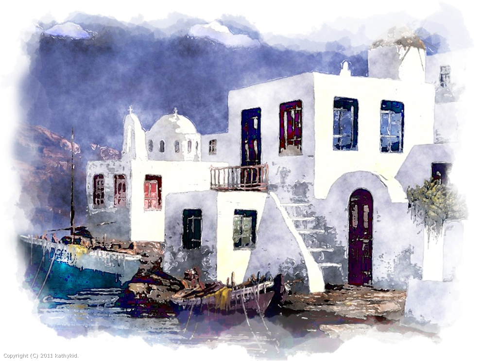 Greek Village by kathykid: www.filterforge.com/gallery/171.html