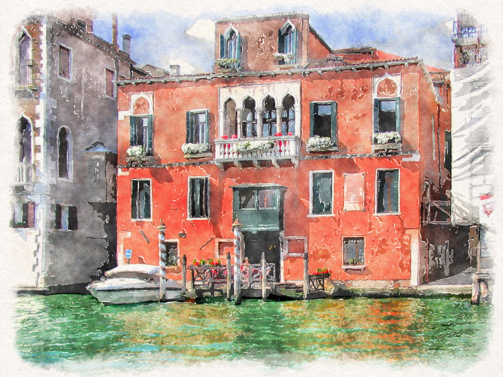 Home Water Filter >> Watercolor Venice