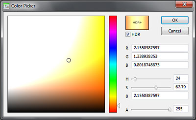 HDR Color Picker