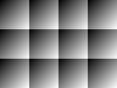 A non-seamless diagonal linear gradient.